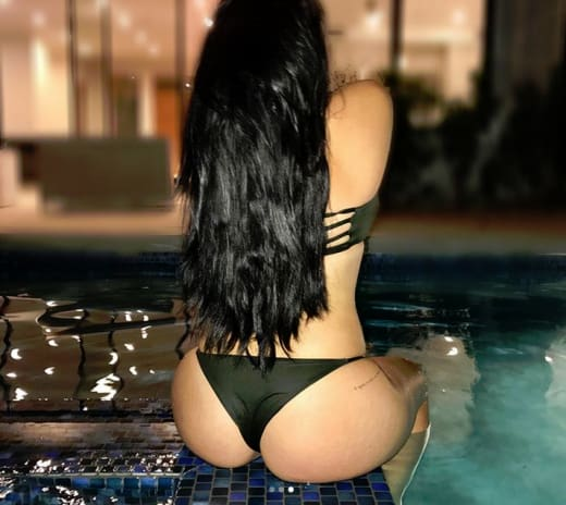 Ariel Winter Shows Off Her Peach