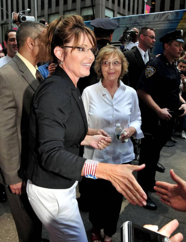 Sarah Palin Shaking Hands