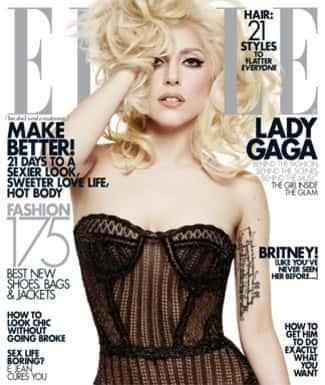 Lady Gaga Elle Cover