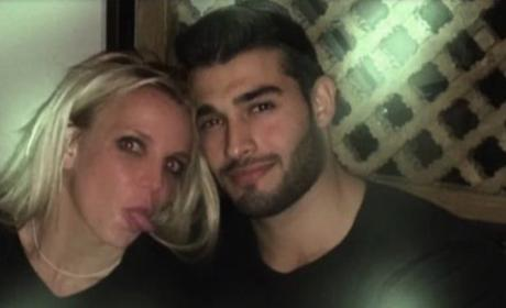 Sam Asghari & Britney Spears Getting Close