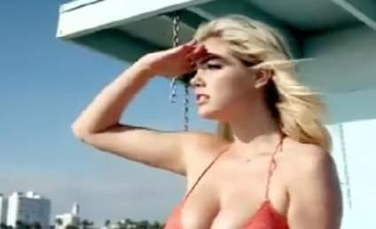 Kate Upton Photo Shoot: Too Hot For Santa Monica Pier!
