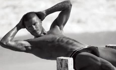 David Beckham, Underwear