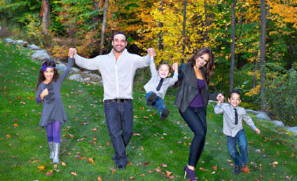 Melissa Gorga Family Christmas Card: AWWWW!