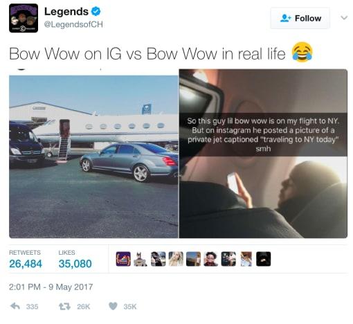 bow wow lie