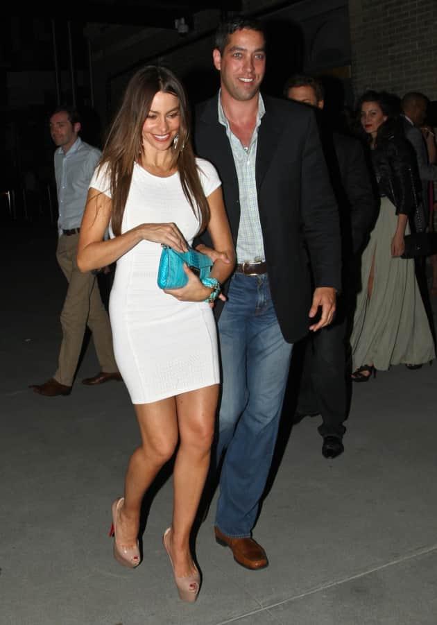 Sofia Vergara and Nick Loeb Photo