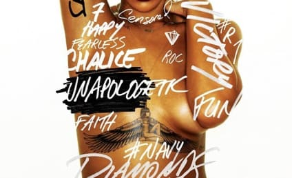 Rihanna: Naked, Unapologetic on New Album Cover