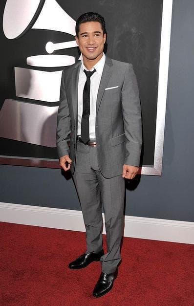 Mario Lopez at the Grammys