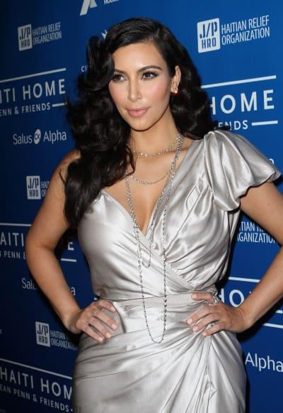 Kim Kardashian for Haiti