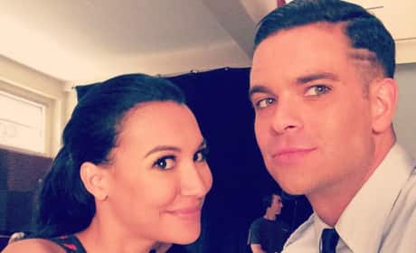 Naya Rivera and Mark Salling Instragram Photo