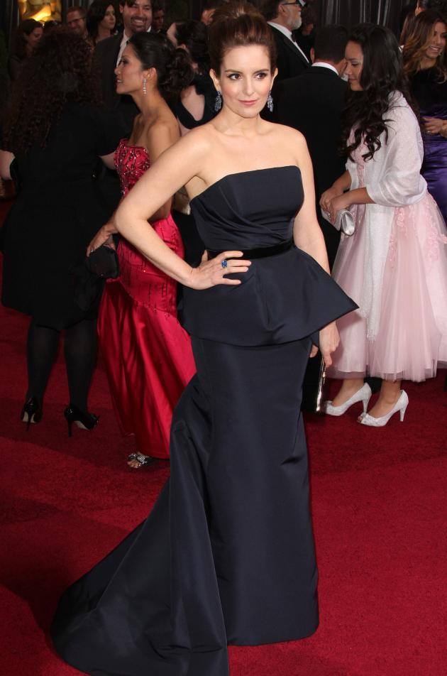 Tina Fey at the Oscars