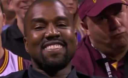 Kanye West: Caught Smiling... Again!