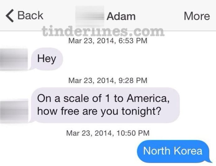 Tinder Messages EVER SENT: How Free Are You Tonight!? - The Hollywood Gossip