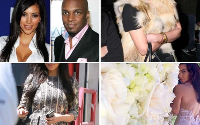 9 surprising facts about kim kardashian she was a teenage bride