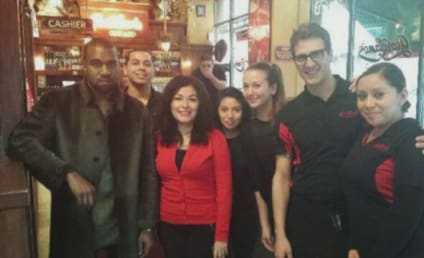 Kimye Katches Kustomers by Surprise in Chikago