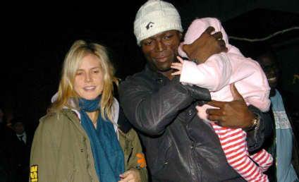 Heidi Klum: Child in Hand, Another in Tummy