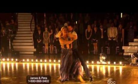 James Maslow & Peta Murgatroyd - DWTS Week 1