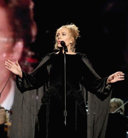 Adele Honors George Michael