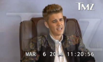 Justin Bieber Blows Up at Court Reporter, Sucks So Hard
