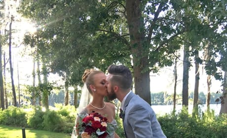 Maci Bookout and Taylor McKinney Wedding Photo