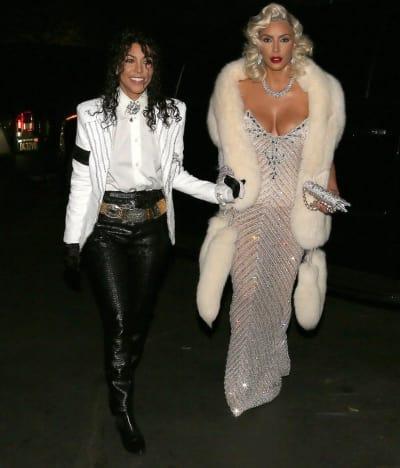 Kourtney Kardashian as Michael Jackson