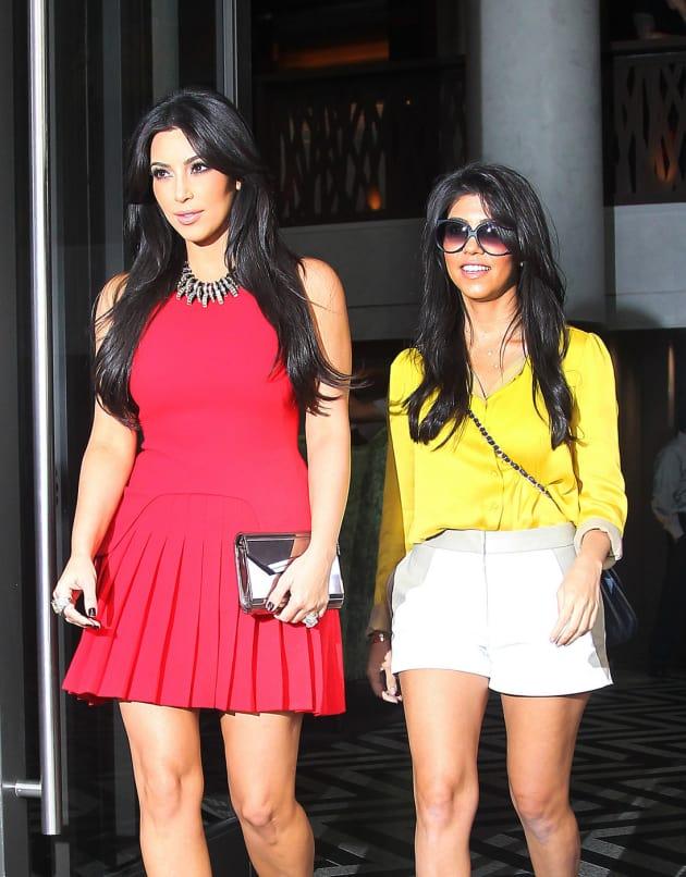 Kute Kourtney Kardashian