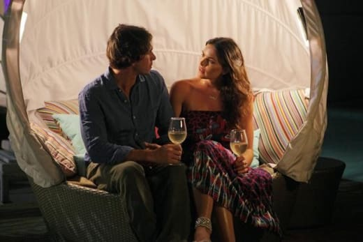 Ben Flajnik With Courtney Robertson