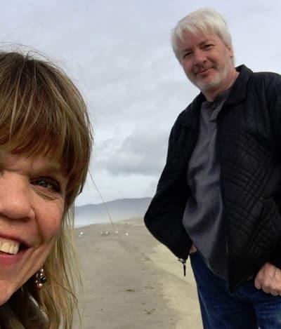Amy Roloff and Chris Marek, Valentines 2018