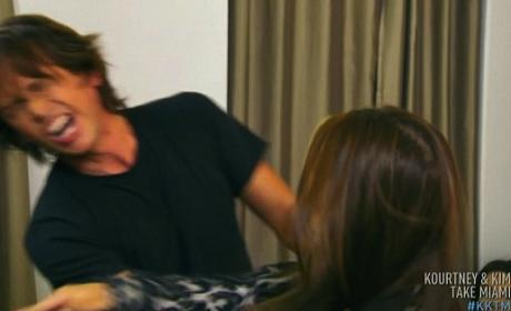 Jonathan Cheban Gets Slapped