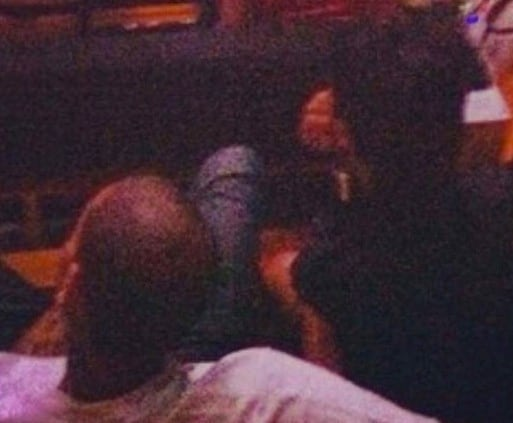 Chris Brown and Rihanna at Jay-Z Concert