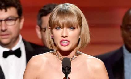 Taylor Swift Wins Album of the Year, Sticks It to Kanye West