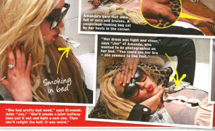 """Amanda Bynes SLAMS In Touch, Claims Face Was Morphed Into Pics With """"Ugly Black Man"""""""