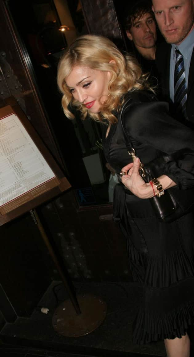 Madonna Won't Cry for You