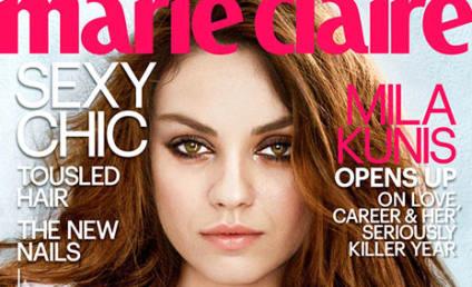 """Mila Kunis Talks Pregnancy Boobs, """"Shredded Vagina"""""""