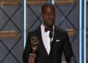 Sterling K. Brown Played Off Stage at Emmys, Finishes Acceptance Speech in Press Room