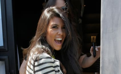 Kourtney Kardashian Channels Lady GaGa, Cries Out for Attention