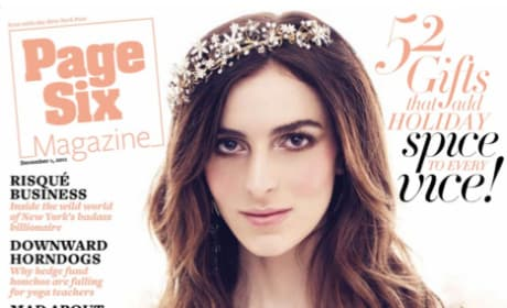 Ali Lohan Page Six Cover