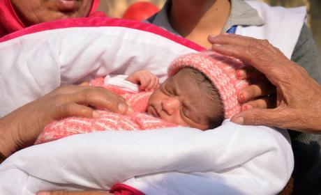 Abandoned Newborn Found In Box