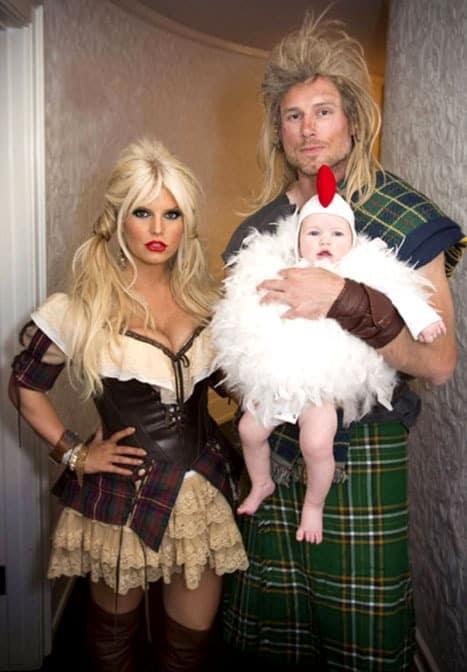 Jessica Simpson Halloween Costume