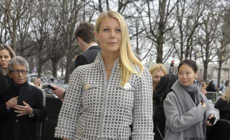 Gwyneth Paltrow at Chanel's Show During Paris Fashion Week Haute Couture Spring/Summer 2016