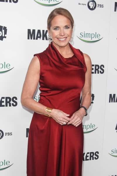 Katie Couric Red Carpet Photo