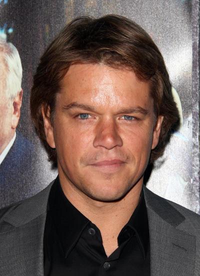 Matt Damon Hairstyle
