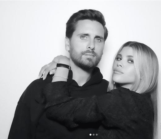 Scott and Sofia in Black and White