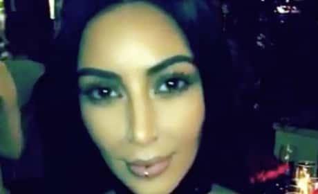 Kim Kardashian Lip Ring