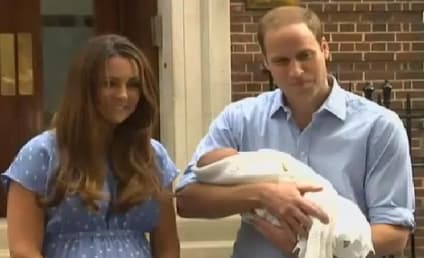 Royal Baby Photos, Video: Kate Middleton, Prince William Debut Newborn Son!