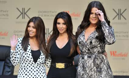 Kardashian Christmas Card: Where's Kanye West?
