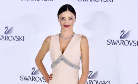 Miranda Kerr: Sony Ginza Building Lighting Ceremony