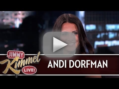 Andi Dorfman on Jimmy Kimmel Live - Predictions