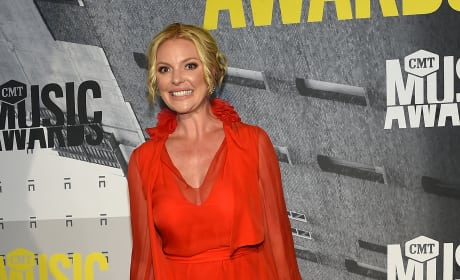 Katherine Heigl at the CMTs