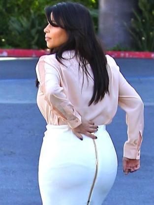 Kim Kardashian Booty Photo