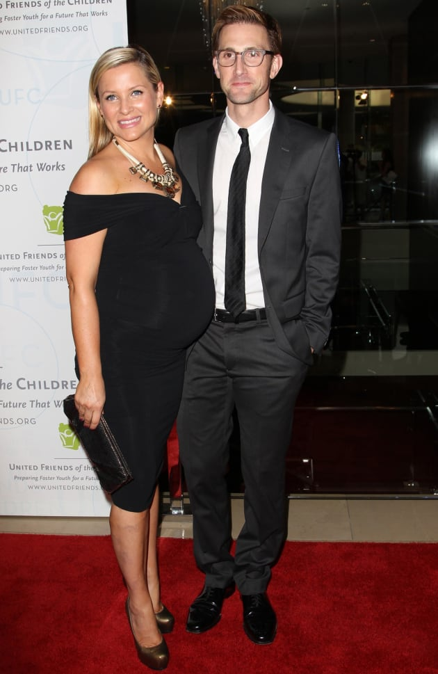 Jessica Capshaw and Christopher Gavigan